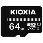 (まとめ)KIOXIA microSDカード 64GB KCA-MC064GS 1個【×2セット】