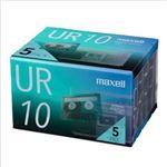 (まとめ)マクセル 音楽用カセットテープ UR 10分 UR-10N5P 1パック(10分×5巻)【×3セット】