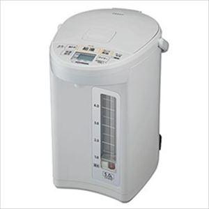象印マホービン マイコン沸とう電動ポット 5L ホワイトグレー CD-SE50-WG 1台 - 拡大画像