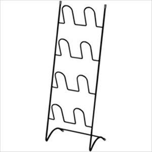 (まとめ)スリッパラック ブラック LD-WS-01(81300) 1台【×2セット】 - 拡大画像