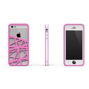 CrossWay ホワイト/ピンク FB103-WHPK iPhone5用ケース - 拡大画像
