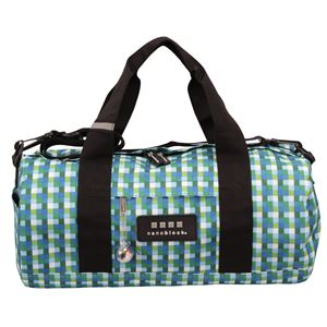 nano block(ナノブロック) BOSTON BAG block pattern ボストンバッグ NB005C ブルー - 旅行グッズ特集