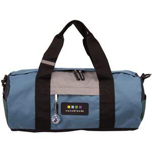 nano block(ナノブロック) BOSTON BAG CRAZY COL. ボストンバッグ NB005Z ブルー - 旅行グッズ特集