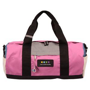 nano block(ナノブロック) BOSTON BAG CRAZY COL. ボストンバッグ NB005Z ピンク - 旅行グッズ特集