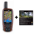 GARMIN(ガーミン) ハンディGPS GPSmap64SJ 日本登山地形図付(TOPO10M V3)【日本正規品】キャンペーン数量限定特別セット
