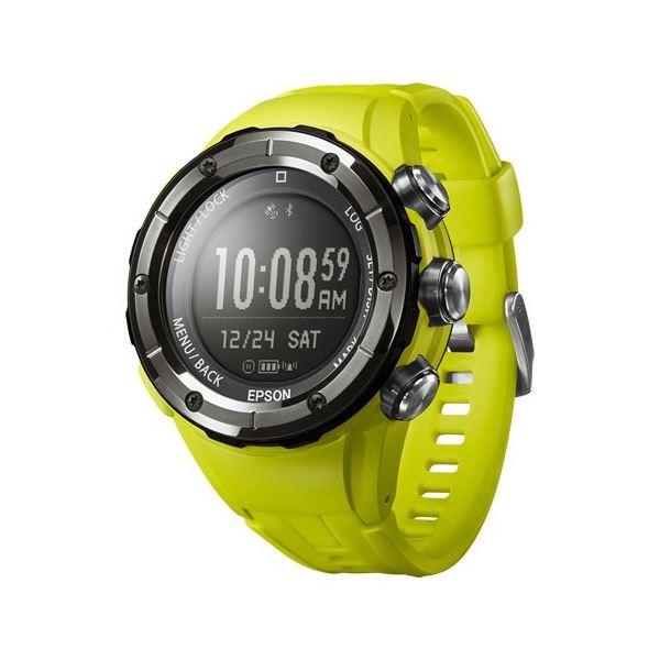 エプソン(EPSON) Wristable GPS for Trek MZ500Y オーガニックイエロー MZ500Y