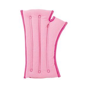 musshu(ムッシュ) 手首枕 サクラ咲く手首まくら(両手用) ピンク Lサイズ - 拡大画像