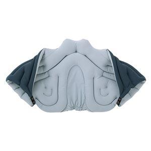 musshu(ムッシュ) 肩枕 サクラ咲く肩まくら チャコール Lサイズ - 拡大画像