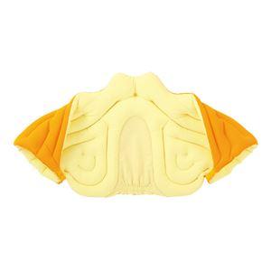 musshu(ムッシュ) 肩枕 サクラ咲く肩まくら オレンジ Lサイズ - 拡大画像