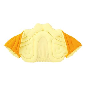 musshu(ムッシュ) 肩枕 サクラ咲く肩まくら オレンジ Mサイズ - 拡大画像