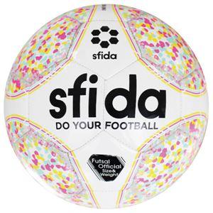 SFIDA(スフィーダ) フットサルボール 4号球 INFINITO II L ホワイト BSFIN13 - 拡大画像