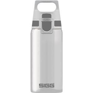SIGG ワンタッチ式トライタン製ボトル トータルクリア ワン(アントラサイト 0.5L) - 拡大画像