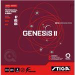 STIGA(スティガ) 裏ソフトラバー GENESIS II SPIN S(ジェネシス II スピン S) RED 厚