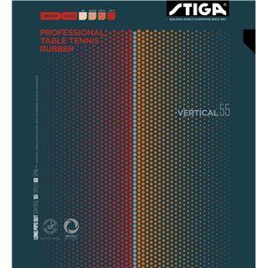 STIGA(スティガ) 粒高ラバー VARTICAL 55 (バーティカル 55) BLACK 中 - 拡大画像