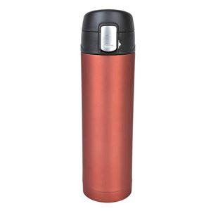 belmont(ベルモント)銀抗菌ステンレス 真空二重ボトル レッド(RD)ワンタッチ形 500ml