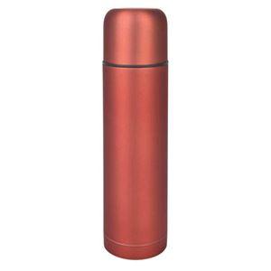 belmont(ベルモント)銀抗菌ステンレス 真空二重ボトル レッド(RD)ワンプッシュ形 500ml