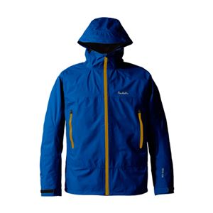 PUROMONTE(プロモンテ) Rain Wear GORE-TEX パックライト ジャケット(メンズ) ネイビー L - 拡大画像