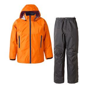 PUROMONTE(プロモンテ) Rain Wear GORE-TEX レインスーツ(メンズ) オレンジ XL - 拡大画像