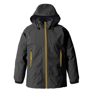 PUROMONTE(プロモンテ) Rain Wear GORE-TEX パックライト レインスーツ (メンズ) ブラック L - 拡大画像