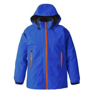 PUROMONTE(プロモンテ) Rain Wear GORE-TEX パックライト レインスーツ (メンズ) ロイヤルブルー 3L - 拡大画像