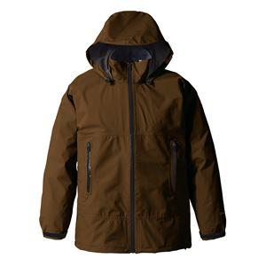PUROMONTE(プロモンテ) Rain Wear GORE-TEX パックライト レインスーツ (メンズ) ブラウン M - 拡大画像