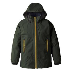 PUROMONTE(プロモンテ) Rain Wear GORE-TEX パックライト レインスーツ (メンズ) モスグリーン XL - 拡大画像
