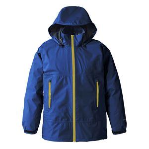 PUROMONTE(プロモンテ) Rain Wear GORE-TEX パックライト レインスーツ (メンズ) ネイビー XL - 拡大画像