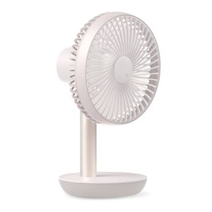 LUMENA エア・サーキュレーター機能付き コードレス扇風機 LUMENA FAN STAND2 ルーメナー ファンスタンド2 パールピンク - 拡大画像