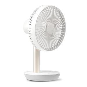 LUMENA エア・サーキュレーター機能付き コードレス扇風機 LUMENA FAN STAND2 ルーメナー ファンスタンド2 ホワイト - 拡大画像