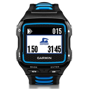 GARMIN(ガーミン) Fore Athlete920XTJ BlackBlue【日本正規品】117432 - 拡大画像