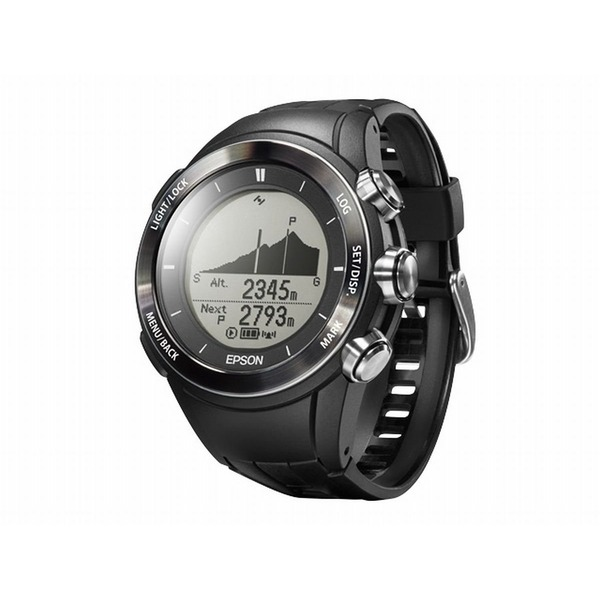 エプソン(EPSON) Wristable GPS for Trek MZ500B ブラック
