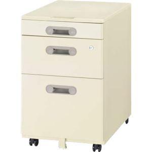 デスク収納 サイドワゴン キャスター付き LT-N043A-L