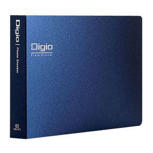 (業務用セット) Digio フォトストッカー 2L判 ヨコ1段ポケット DGPC61【×10セット】 - 拡大画像