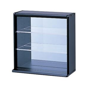 (業務用セット) コレクションケース ミニ 透明アクリル棚板タイプ CCM-001D【×2セット】 - 拡大画像