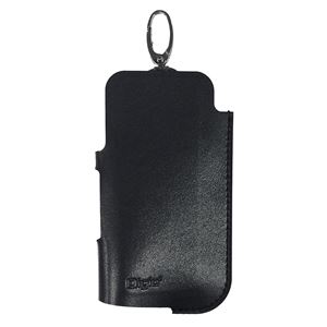 (業務用5セット) Digio2 IQOS用 PUレザー/ソフトケース IQS01 ブラック SZC-IQS01BK