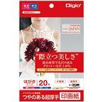 (業務用5セット) Digio2 インクジェットプリンタ用紙 印画紙タイプ PC/20枚 JPSK2-PC-20