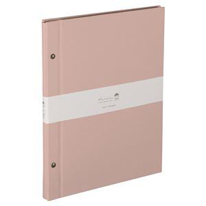(業務用2セット) ハルマー フリーアルバム A-HRA4-301-P  ピンク
