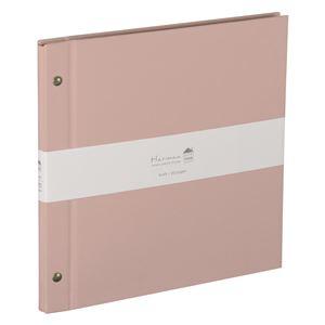(業務用3セット) ハルマー フリーアルバム A-HRD-201-P  ピンク
