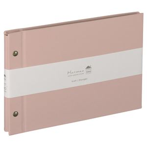 (業務用3セット) ハルマー フリーアルバム A-HRA5-101-P  ピンク