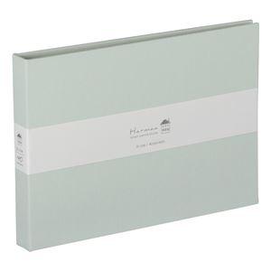 (業務用5セット) ハルマー ポケットアルバム A-HR2LP-301-B  ミントブルー