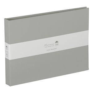 (業務用5セット) ハルマー ポケットアルバム A-HR2LP-301-N  グレー