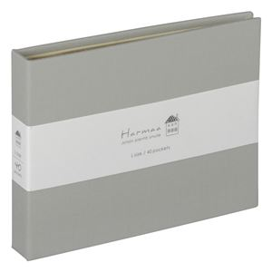 (業務用5セット) ハルマー ポケットアルバム A-HRLP-101-N  グレー