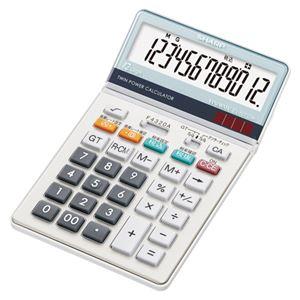 (まとめ) シャープ 電卓 EL-N732K 1台入 【×2セット】