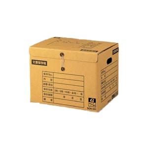 (業務用セット) ゼネラル イージーストックケース 段ボール製 文書保存箱 SCH-101 1個入 【×5セット】