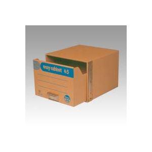 (業務用セット) ゼネラル イージーキャビネット 段ボール製・補強材:鉄製 45 EC-102 1個入 【×2セット】