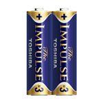 (業務用セット) 東芝 TOSHIBA アルカリ乾電池 ザ・インパルス シュリンクパック LR6HS 2KP 2本入 【×10セット】