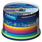 (業務用セット) 三菱化学メディア PC DATA用 DVD-R 1-16倍速対応 DHR47JP50V3 50枚入 【×2セット】