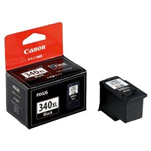 (業務用セット) キヤノン Canon インクジェットカートリッジ BC-340XL ブラック大容量 1個入 【×2セット】 - 拡大画像