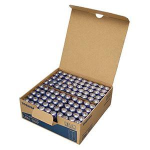 東芝 アルカリ乾電池 単3形 100本パック LR6L 100P - 拡大画像
