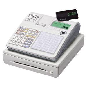 カシオ タッチキーネットレジ ホワイト TK-2800-4S TK-2800-4S